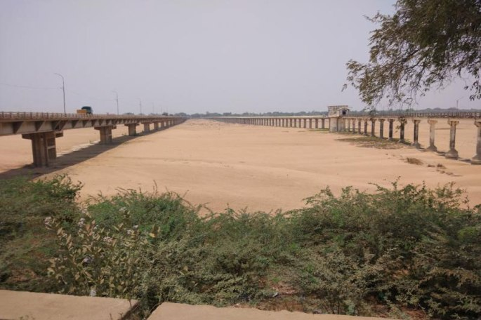 cauvery_dry river bed
