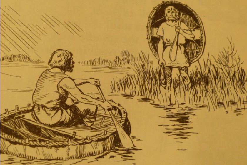 Coracle from Unstead book October 2012